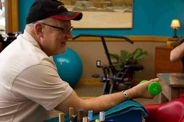 new occupational therapy client